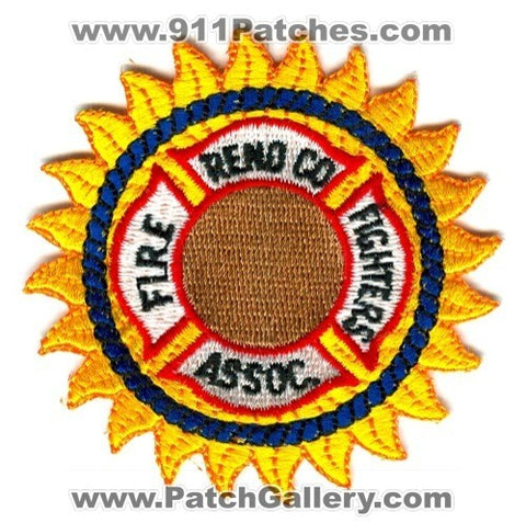 Reno County Fire Fighters Association Patch Kansas KS