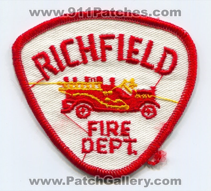 Richfield Fire Department Patch Unknown State