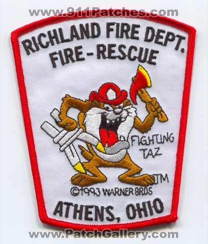 Richland Fire Rescue Department Athens Patch Ohio OH