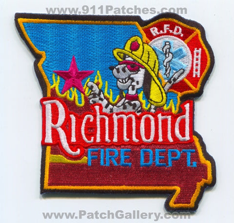 Richmond Fire Department Patch Missouri MO