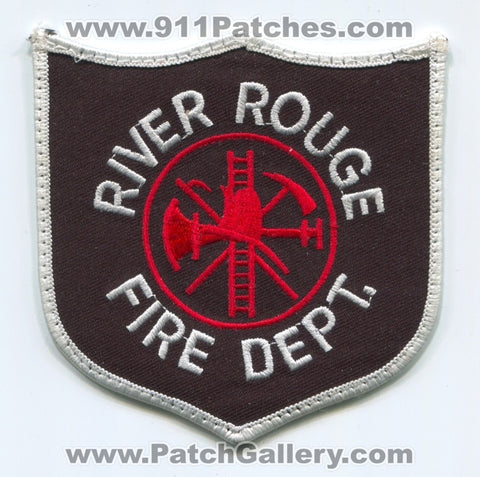 River Rouge Fire Department Patch Michigan MI