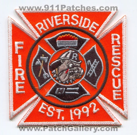 Riverside Fire Rescue Department Patch Ohio OH