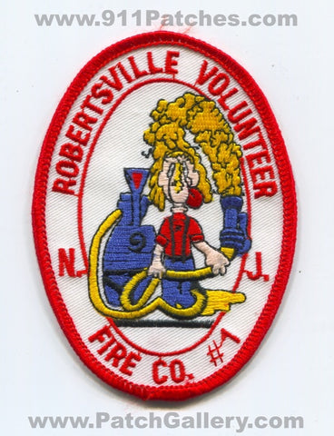 Robertsville Volunteer Fire Company Number 1 Patch New Jersey NJ