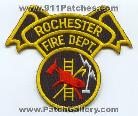 Rochester Fire Department Patch Indiana IN