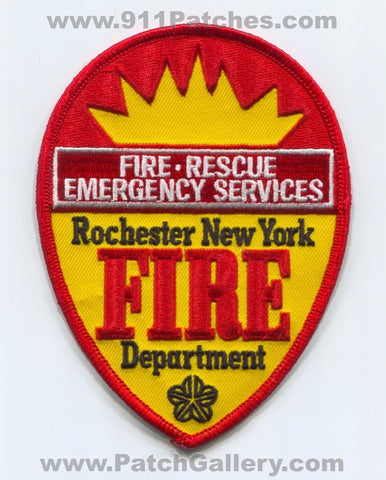 Rochester Fire Rescue Department Emergency Services Patch New York NY