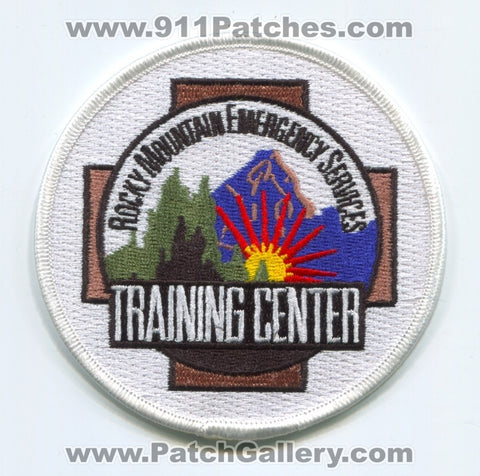 Rocky Mountain Emergency Services Training Center ARFF Fire Patch Montana MT