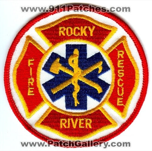 Rocky River Fire Rescue Department Patch Ohio OH