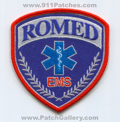 Romed Emergency Medical Services EMS Patch Pennsylvania PA