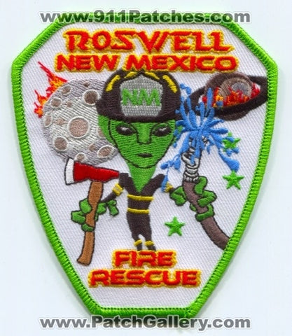 Roswell Fire Rescue Department Patch New Mexico NM