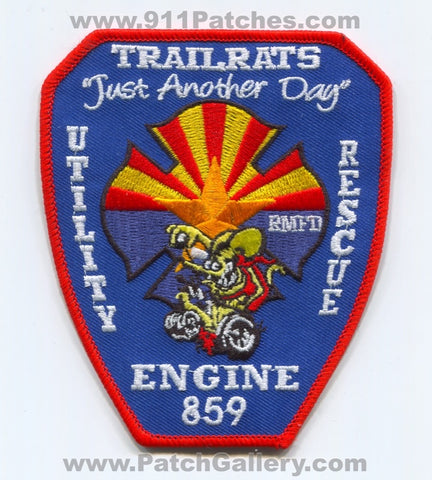 Rural Metro Fire Department Station 859 Patch Arizona AZ