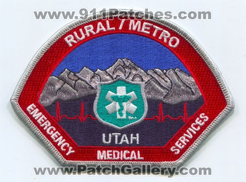 Rural Metro Emergency Medical Services EMS Patch Utah UT