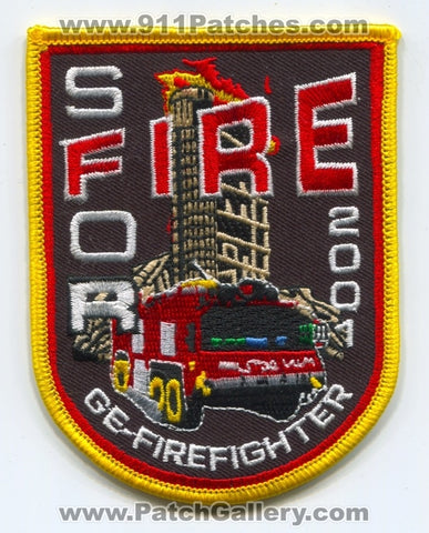 Bosnia and Herzegovina - Stabilisation Force SFOR Fire Department GE Firefighter 2001 Patch