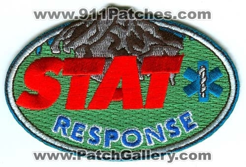 STAT Response Emergency Medical Services EMS Patch Washington WA v1 SKU214