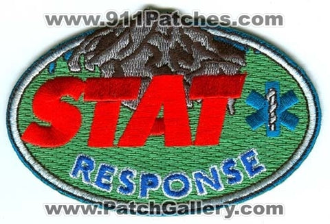 STAT Response Emergency Medical Services EMS Patch Washington WA v1