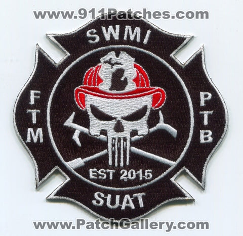 SWMI Shut Up and Train SUAT Fire Patch Michigan MI