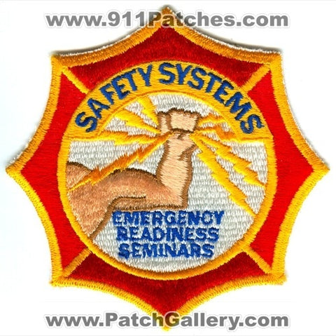 Safety Systems Emergency Readiness Seminars Fire Department Patch Florida FL