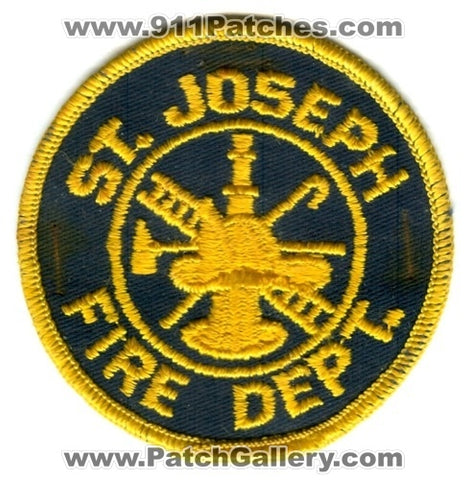 Saint Joseph Fire Department Patch Missouri MO
