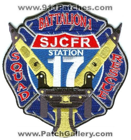Saint Johns County Fire Rescue Department Station 17 Patch Florida FL
