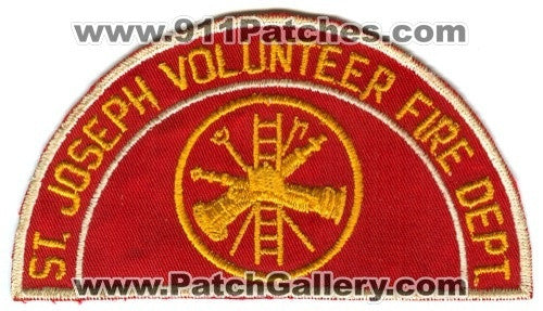 Saint Joseph Volunteer Fire Department Patch Unknown State
