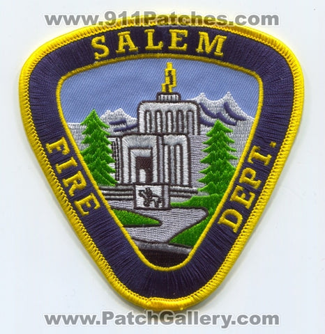 Salem Fire Department Patch Oregon OR