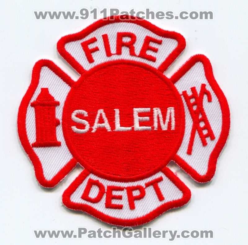 Salem Fire Department Patch Unknown State
