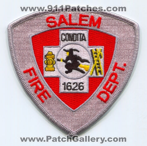 Salem Fire Department Patch Massachusetts MA