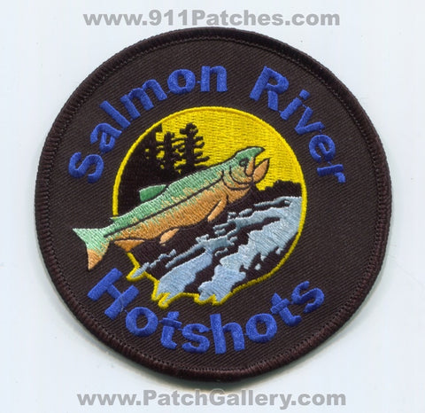 Salmon River Hotshots Forest Fire Wildfire Wildland Patch California CA