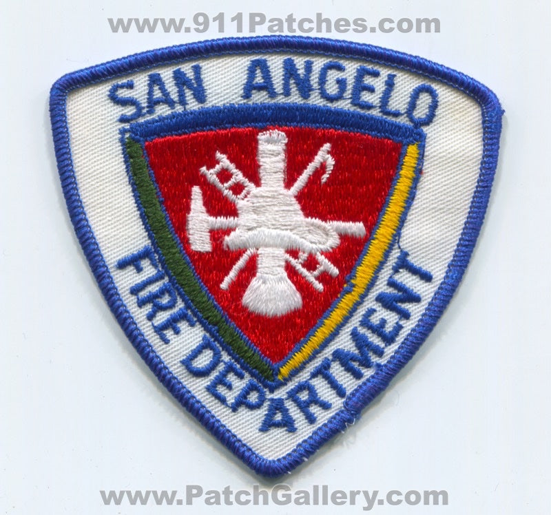 San Angelo Fire Department Patch Texas TX