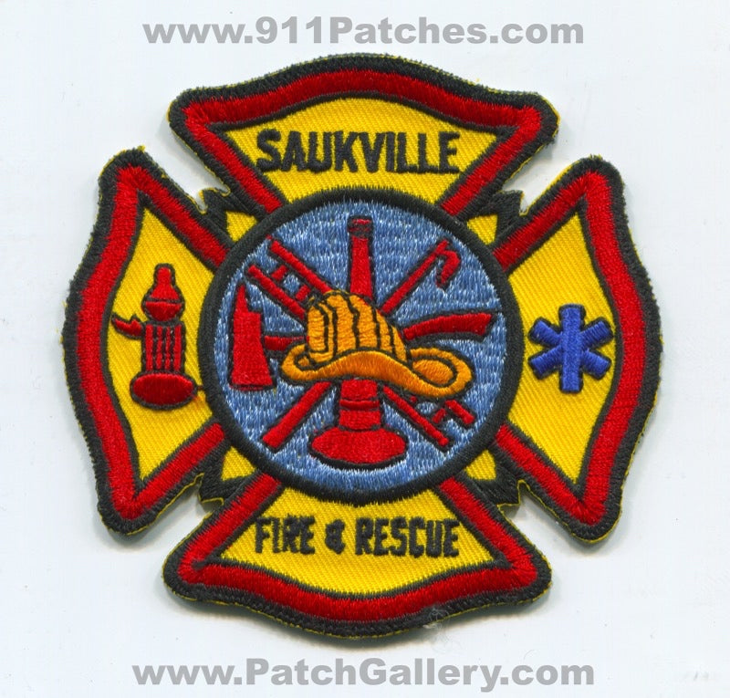 Saukville Fire and Rescue Department Patch Wisconsin WI