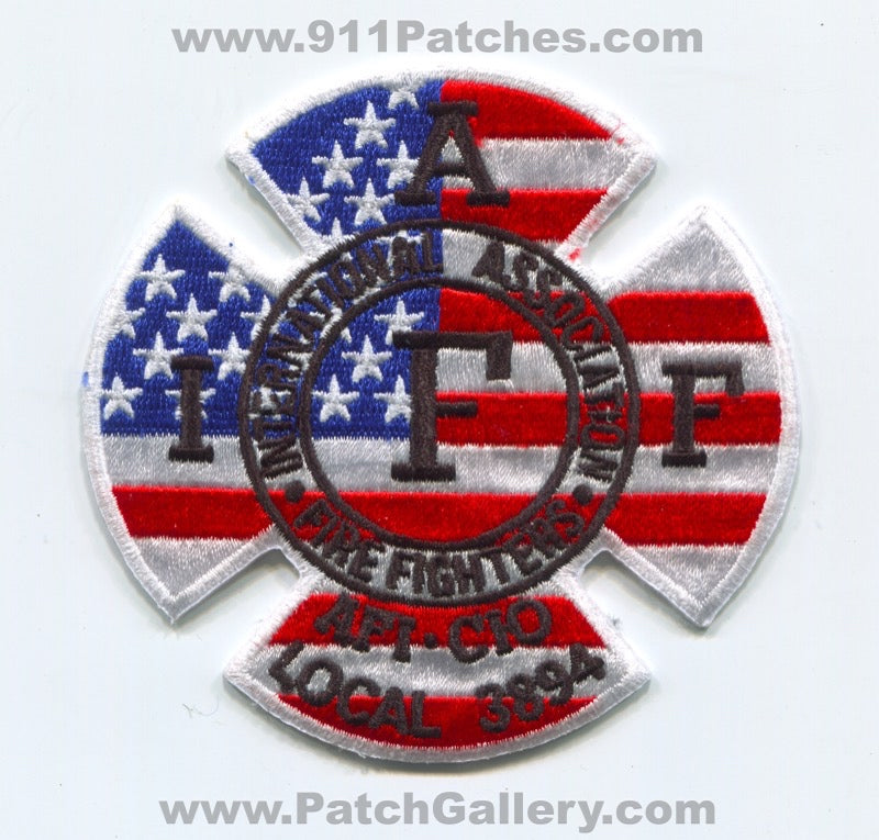Scarborough Fire Department IAFF Local 3894 Patch Maine ME