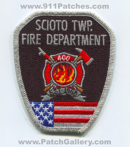 Scioto Township Fire Department 400 Patch Ohio OH