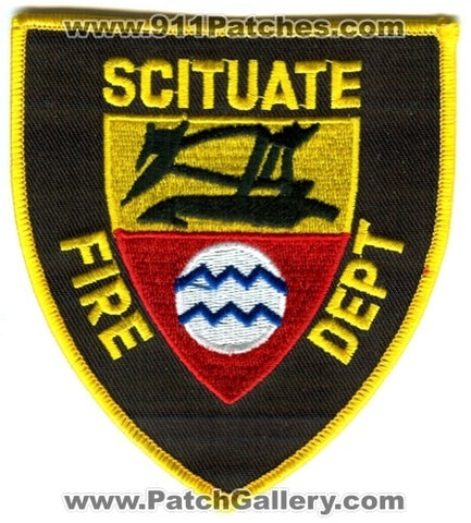 Scituate Fire Department Patch Rhode Island RI