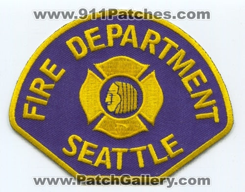 Seattle Fire Department Patch Washington WA
