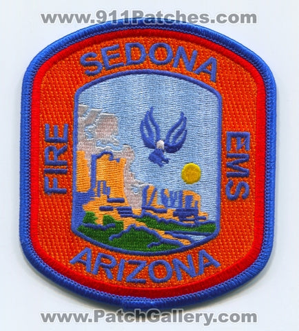 Sedona Fire EMS Department Patch Arizona AZ