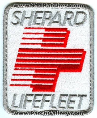 Shepard LifeFleet Ambulance EMS Patch Washington WA