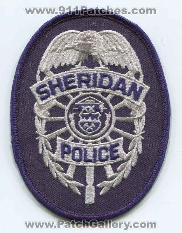 Sheridan Police Department Patch Colorado CO