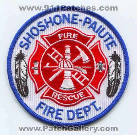 Shoshone-Paiute Fire Rescue Department Patch Nevada NV