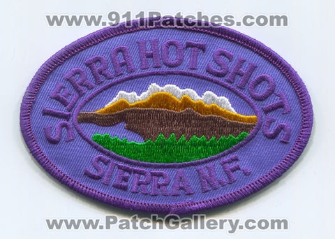 Sierra Hotshots Forest Fire Wildfire Wildland Patch California CA