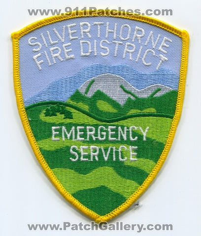 Silverthorne Fire District Emergency Service Patch Colorado CO v2 DEFUNCT SKU198