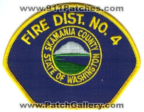 Skamania County Fire District 4 Patch Washington WA