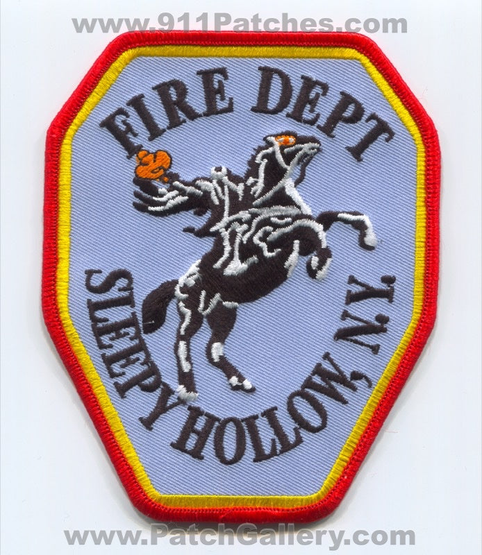 Sleepy Hollow Fire Department Patch New York NY