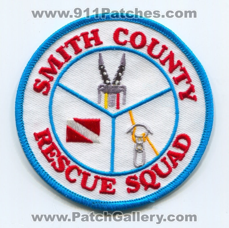 Smith County Rescue Squad Patch Tennessee TN