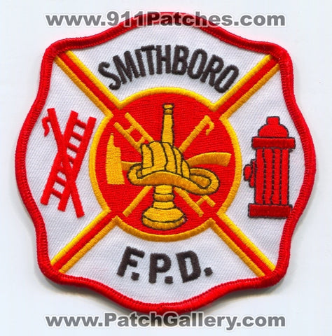Smithboro Fire Protection District Patch Illinois IL