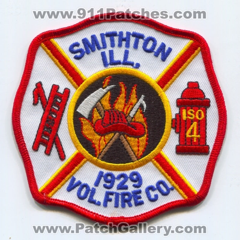 Smithton Volunteer Fire Company Patch Illinois IL