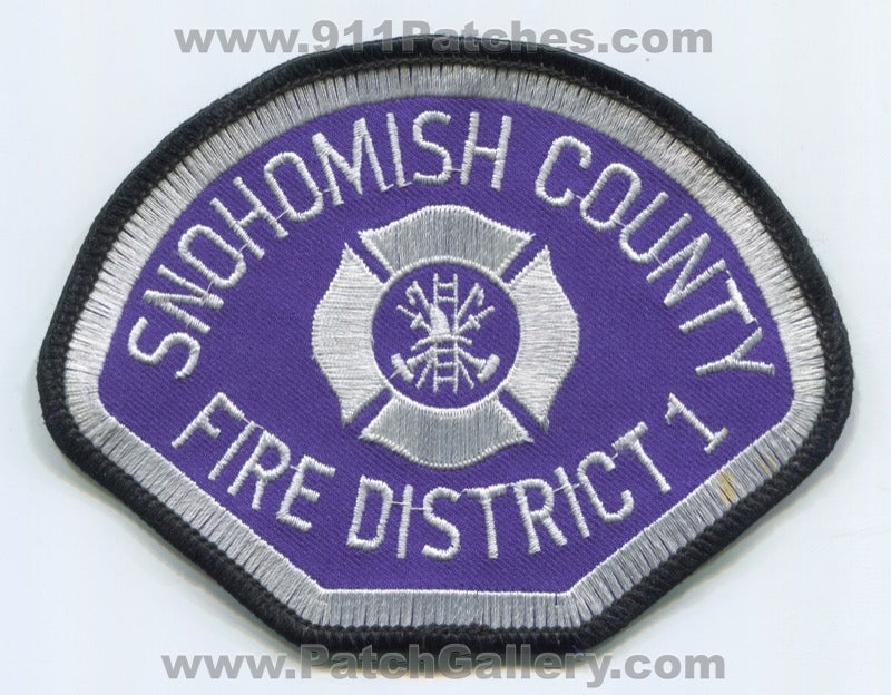 Snohomish County Fire District 1 Patch Washington WA