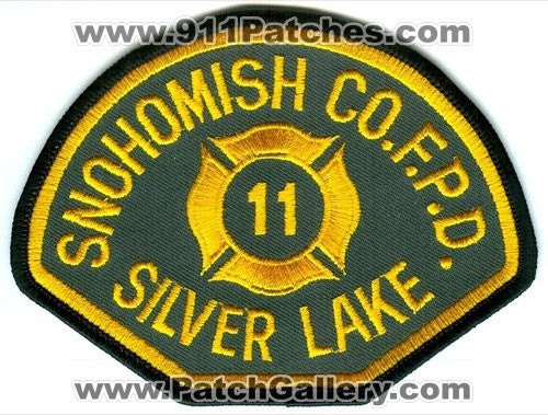 Snohomish County Fire Protection District 11 Silver Lake Patch Washington WA