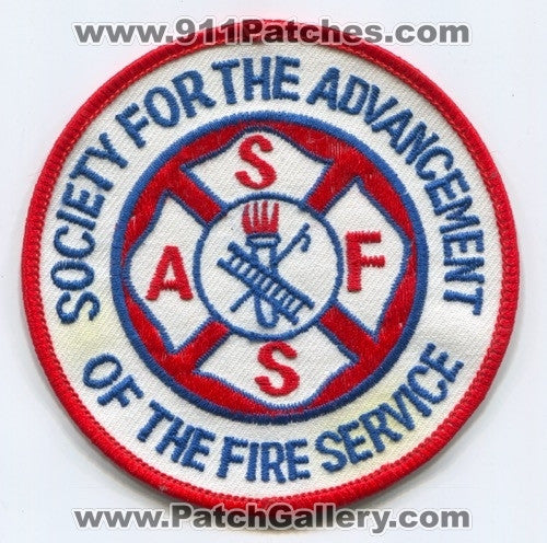 Society for the Advancement of the Fire Service Patch Unknown State