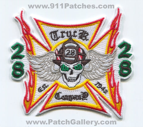 South Adams County Fire Department Truck Company 28 Patch Colorado CO