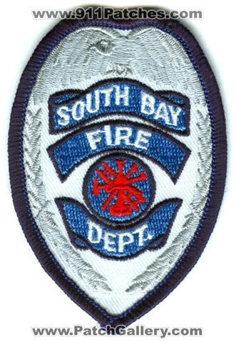 South Bay Fire Department Patch Washington WA