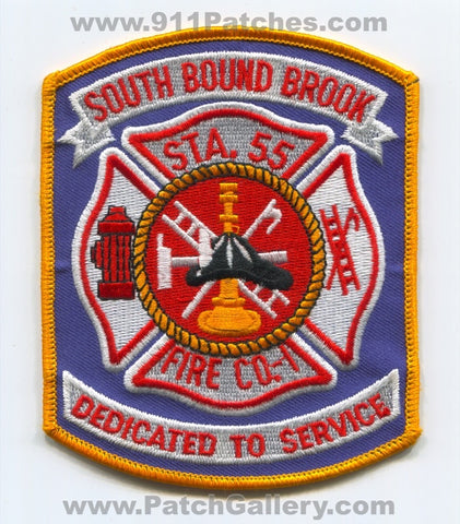 South Bound Brook Fire Company 1 Station 55 Patch New Jersey NJ